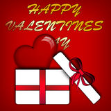 Abstract Valentines Day. Royalty Free Stock Photo