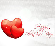 Abstract valentines day background with hearts Stock Photos