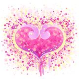 Abstract Valentines Day design Royalty Free Stock Photos