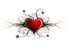 Abstract valentines design, vector Royalty Free Stock Images