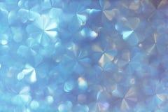 Abstract van de bloemen zacht wit parel en pastelkleur blauw met bokeh Royalty-vrije Stock Afbeeldingen