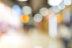 Abstract van de onduidelijk beeldwinkelcomplex en detailhandel binnenland voor backgr Royalty-vrije Stock Afbeelding
