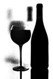 Abstract van de Wijn Ontwerp Als achtergrond Royalty-vrije Stock Fotografie