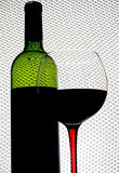 Abstract van de Wijn Ontwerp Als achtergrond Royalty-vrije Stock Foto's