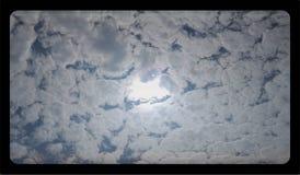 Abstract van de wolkentextuur saai malplaatje als achtergrond voor website, abstract het malplaatjeontwerp van de informatiegrafi royalty-vrije stock fotografie