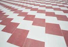 Abstract van het betegelde vloerpatroon behang als achtergrond Stock Afbeelding