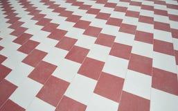 Abstract van het betegelde vloerpatroon behang als achtergrond Royalty-vrije Stock Fotografie