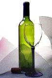 Abstract van het Glaswerk van de Wijn Ontwerp Als achtergrond Royalty-vrije Stock Foto