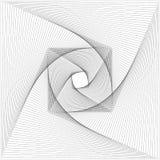Abstract van het lijnpatroon ontwerp als achtergrond - grafische vector royalty-vrije illustratie