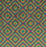 Abstract van het veelhoeknetwerk patroon als achtergrond Stock Foto