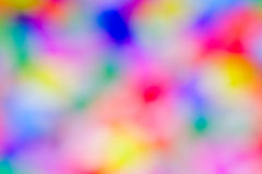 Abstract varicoloured blurred spots. Stock Photography