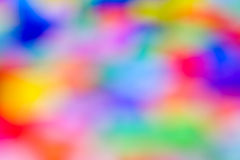 Abstract varicoloured blurred spots. Royalty Free Stock Images