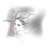 Abstract vector royalty free illustration