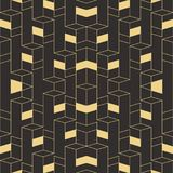 Abstract Vector Art Deco modern tiles pattern Royalty Free Stock Photography