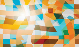 Abstract vector backdrop Stock Image