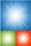 Abstract vector background. Sun ray explosion. Business background Stock Image