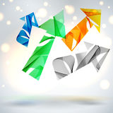 Abstract vector background. Stock Photography