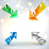Abstract vector background. Royalty Free Stock Images