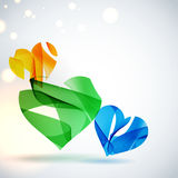 Abstract vector background. Royalty Free Stock Photos