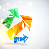 Abstract vector background. Stock Images