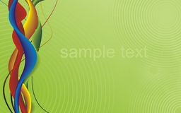 Abstract vector background. / Horizontal composition Royalty Free Stock Photography