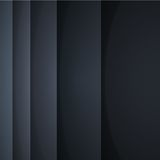 Abstract vector background with black paper layers Stock Images