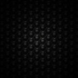 Abstract vector background with black and white hexagons Royalty Free Stock Images