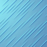 Abstract vector background with blue layers Stock Image