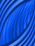 Abstract vector background. Blue line neon, effect  wallpaper, decoration vibrant, strip  flow Royalty Free Stock Images