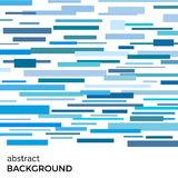 Abstract vector background of blue rectangles of different sizes Stock Images