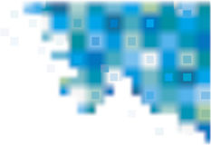 Abstract vector background  of blue squares Stock Photos