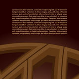 Abstract vector background in brown tones. For your design Royalty Free Stock Photography