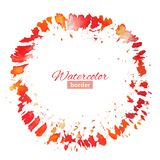 Abstract vector background with brush strokes Royalty Free Stock Photo