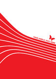 Abstract vector background - butterfly Royalty Free Stock Photography