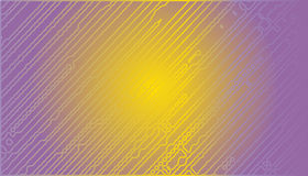 Abstract vector background with chaotic stripes. Stock Photos