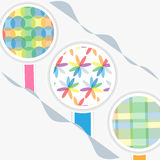 Abstract vector background. Colorful circle,shape,abstract vector background Royalty Free Stock Image