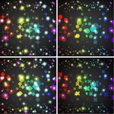 Abstract vector background. Creative dynamic Royalty Free Stock Photos