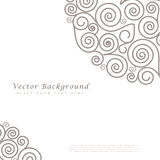 Abstract vector background with curls Stock Photos