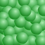 Abstract vector background with 3d balls. Spheric pattern. Vecto. R illustration Stock Photos