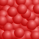 Abstract vector background with 3d balls. Spheric pattern. Vecto. R illustration Royalty Free Stock Photos