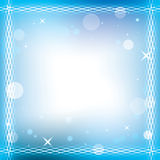 Abstract vector  background with decorative frame Stock Photography