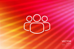 Abstract vector background for design, graphic layout. Modern ab Royalty Free Stock Photo