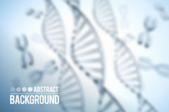 Abstract vector background . DNA molecule with X chromosomes. Abstract background . DNA molecule with X Stock Photo