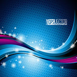 Abstract vector background. Royalty Free Stock Photo