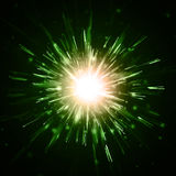 Abstract vector background. Firework blowup om dark Stock Image