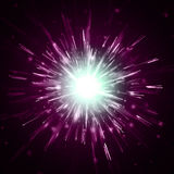 Abstract vector background. Firework blowup om dark Royalty Free Stock Images