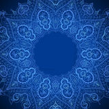 Abstract vector background with floral ornamental Royalty Free Stock Photo