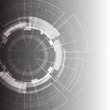 Abstract vector background. Futuristic technology style. Stock Photos