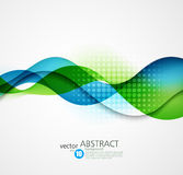 Abstract vector background, futuristic wavy. Illustration eps10 royalty free illustration