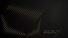 Abstract vector background. Geometric Lines - Inspiration Design . Gold Color. Abstract vector background. Geometric Lines - Creative and Inspiration Design stock illustration
